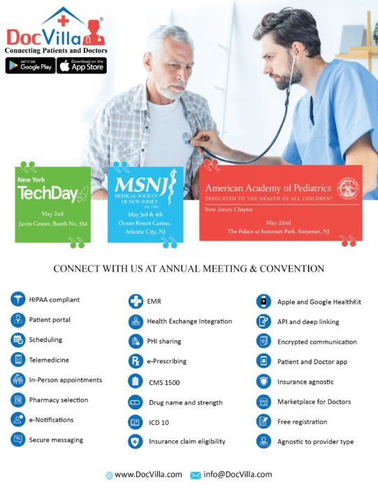 DocVilla - A full suite HIPAA compliant health technology